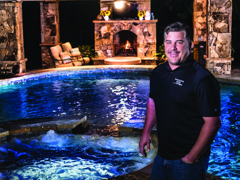 Bring paradise into your backyard gaston alive magazine for Innovative pool design kings mountain