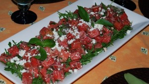 Watermelon Salad pictures