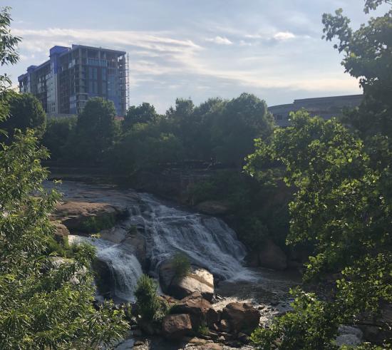 Greenville SC Falls Park